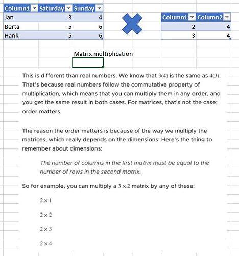MatrixMultiplication