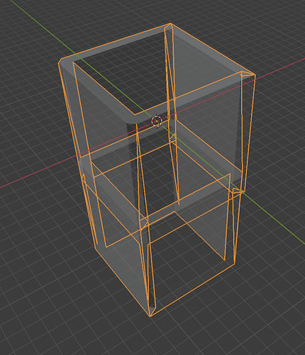 blender issue wall