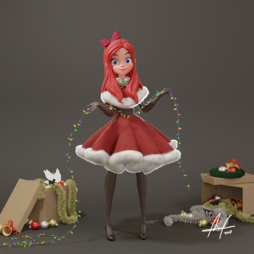 Christmas Girl Final Front+Watermark