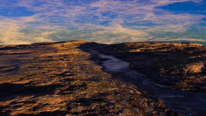 sunrise over arroyo1
