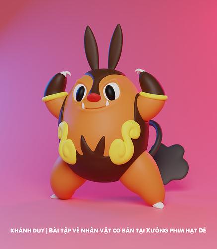 KhanhDuy_Pokemon_Pignite_B