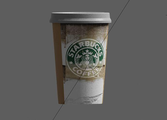 Starbucks_Object Mode