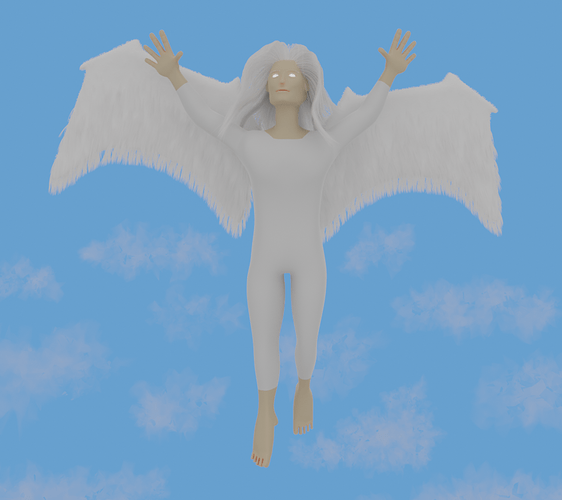 On Wings of an Angel