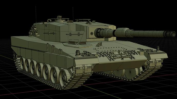 leopard2.1 wireframe
