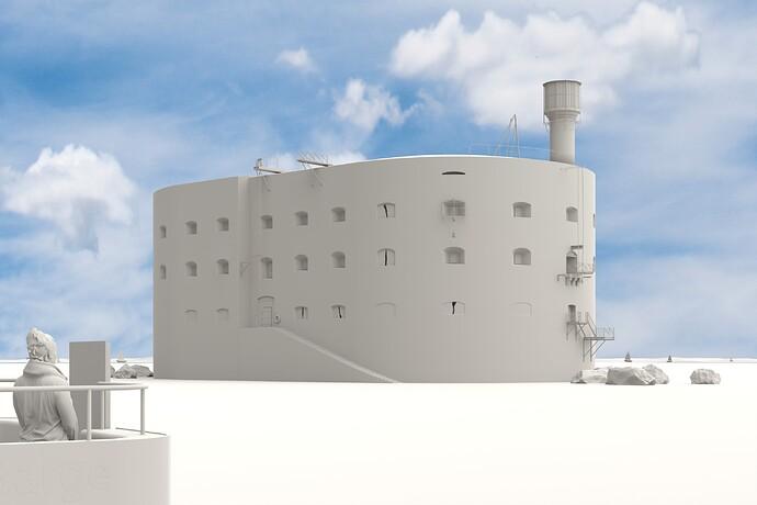 Fort Boyard_clay render_version final
