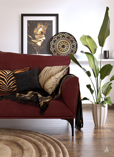Living Room Corner_Lamiaa Abdo