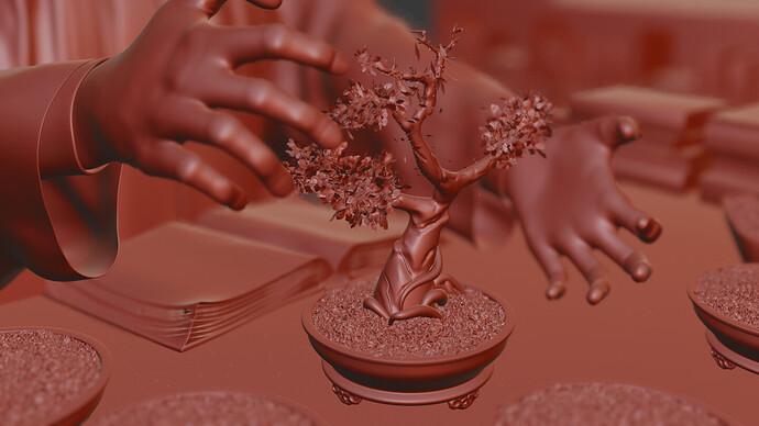 bonsai  opengl