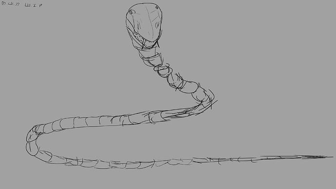 SnakeSkeletonmonsteridea