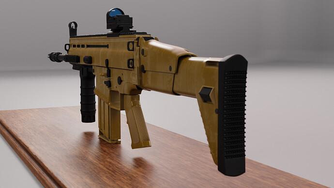 0008 - SCAR-H cam 3 back