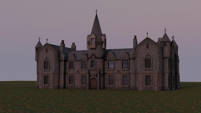 Mansion 1 WIP