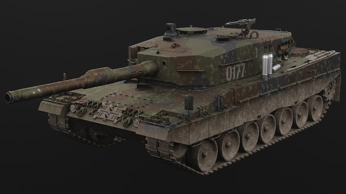 apfsbrt_Leopard2A4_frontvw