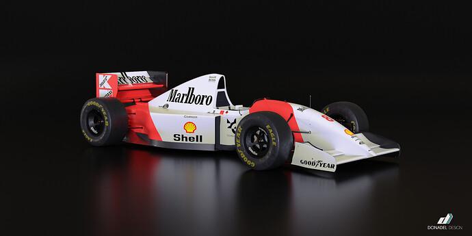 McLaren MP4-8 1