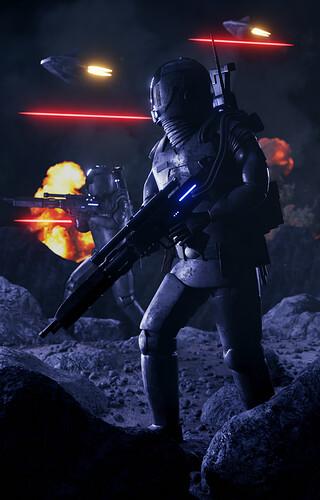 Advance Through Battle (Blender Artwork)