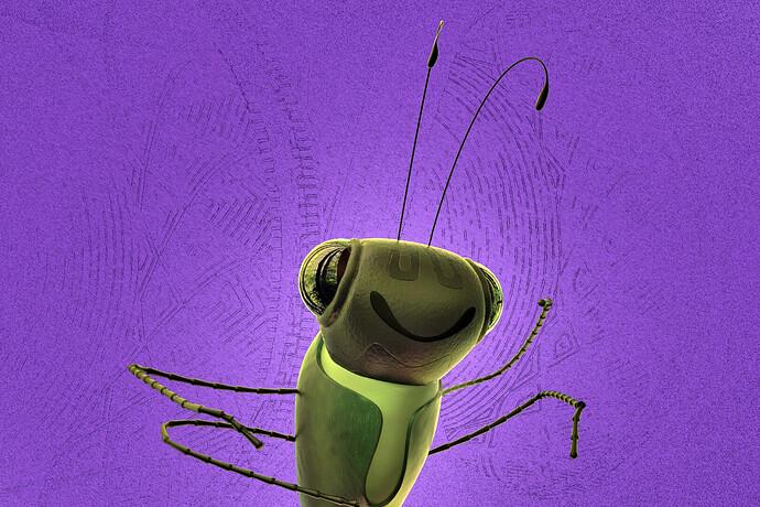 grasshoper fan art stylization by L. C. Costa2