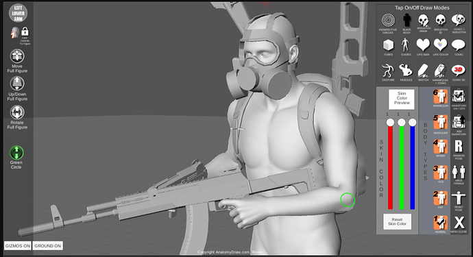 pose-tool-3d-online