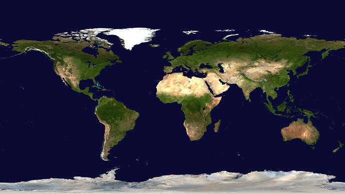 Weltkarte II