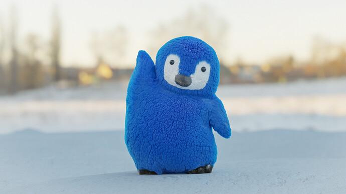 Penguin pose2-2
