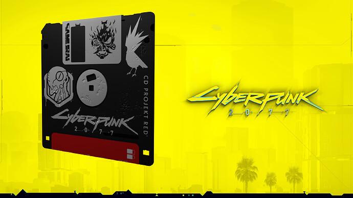 Floppy disk (CyberPunk) 01