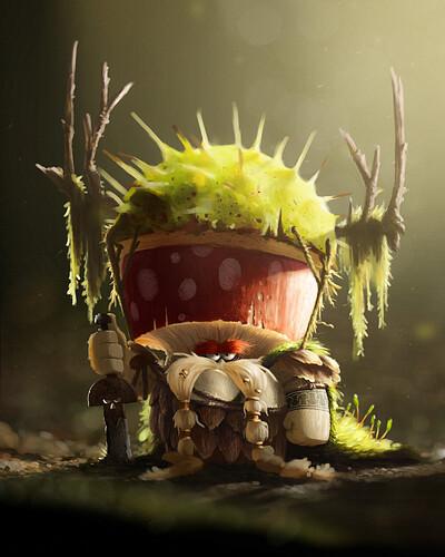 Characterdesignchallenge_mushroom fighter_Martin_Zahradnik