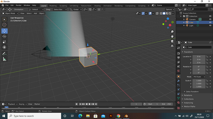Blender screenshot