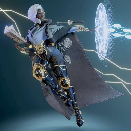 enchantress Spell Book, Render
