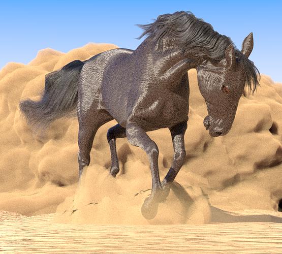 horse-in-desert-test-render-1