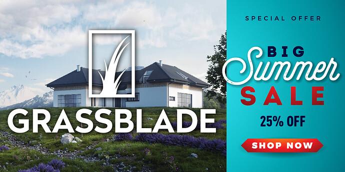 summer sale grassblade