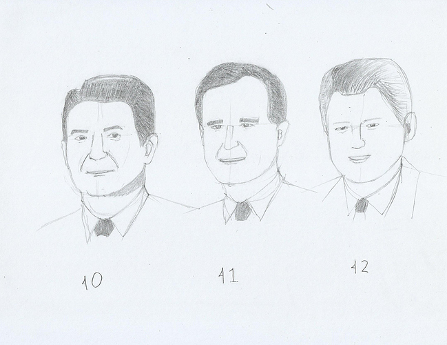 Reagan, Bush, and Clinton