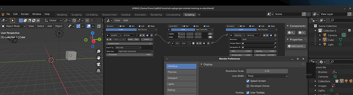 UpGBE  logic bricks editor ignores Blender prefs UI scaling