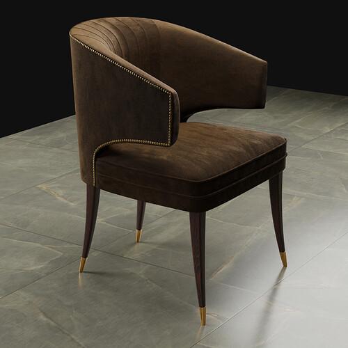 Ibis chair Ready-brown