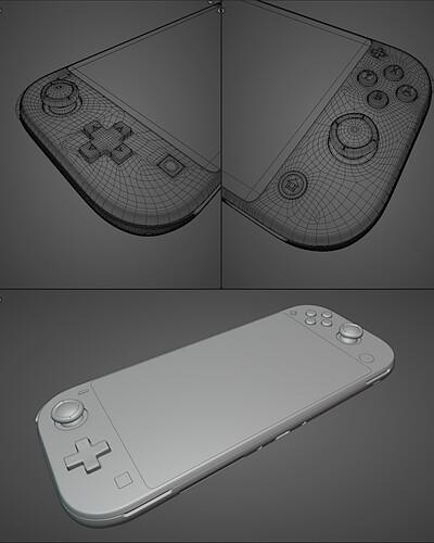 NintendoSwitchLite_Model_Viewport