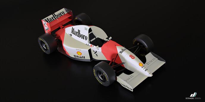 McLaren MP4-8 3