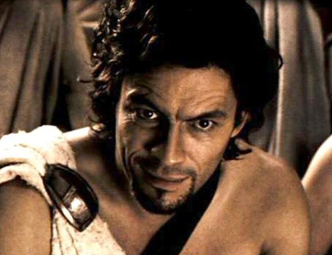 Dominc West in Spartacus