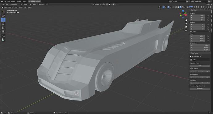 BatmobileAnimation_Car