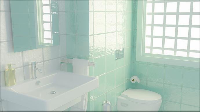 bathroom display for upload