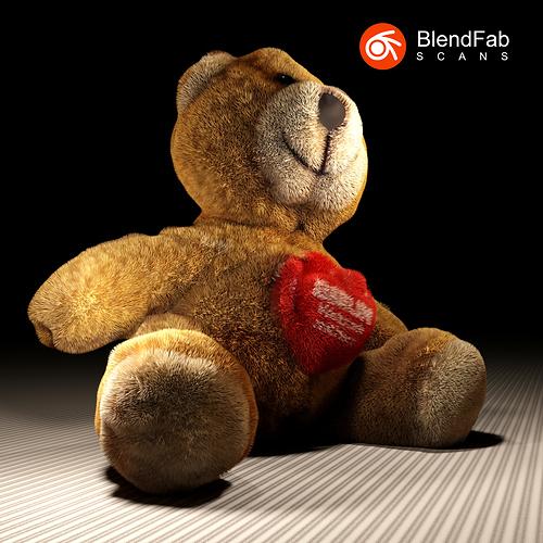 Tedy Bear BlendFab Scans