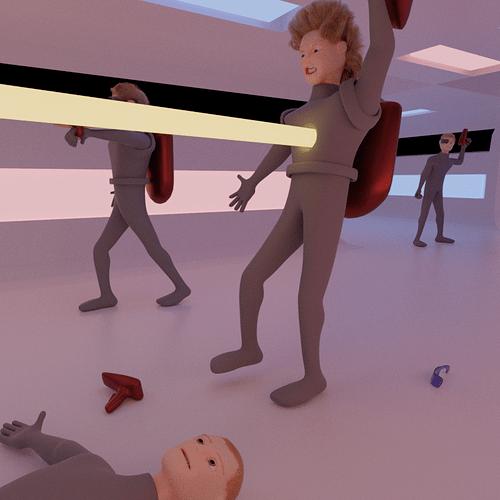 Skirmish at the Station