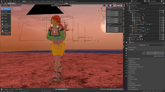 Flare Summers Blender Viewport.PNG