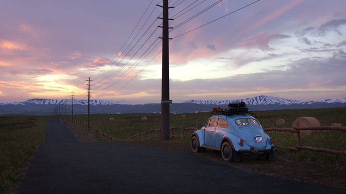 Roadside Beetle #1