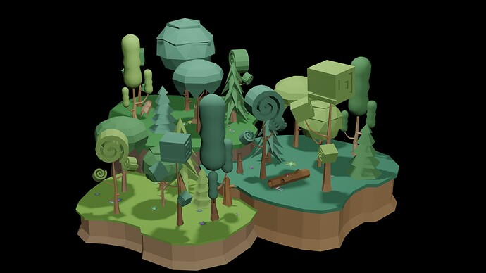 Polygon Forest