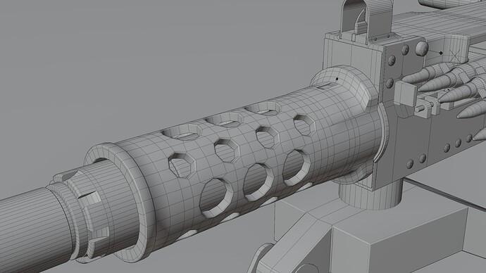 barrel support - wire lo
