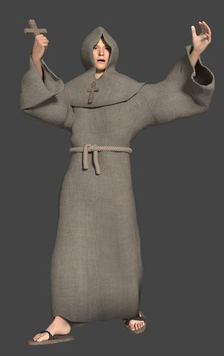 medieval friar