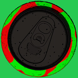 Soda Cans Green Top Ortho