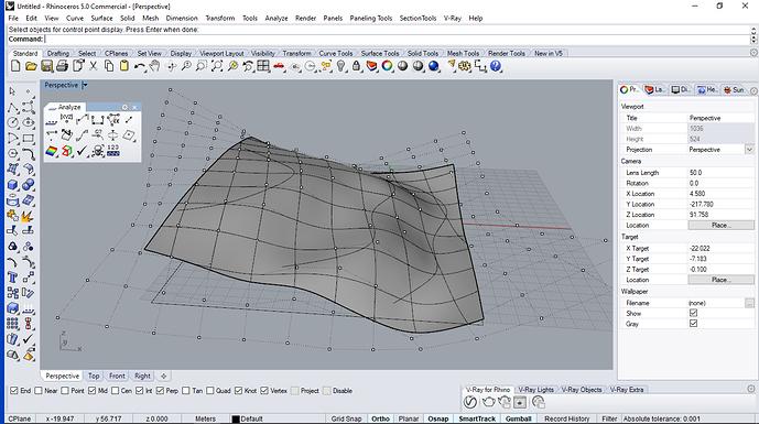 surface edit points
