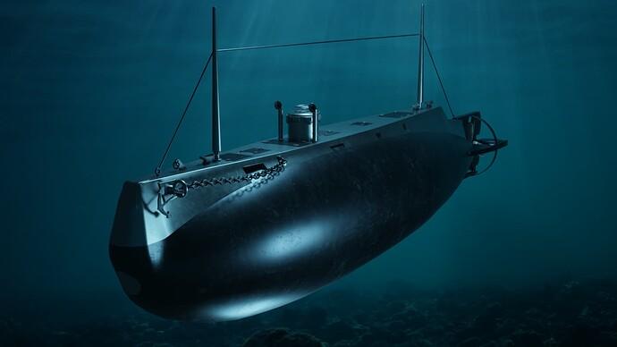 SP textures - USS Holland SS-1 underwater (deeper)