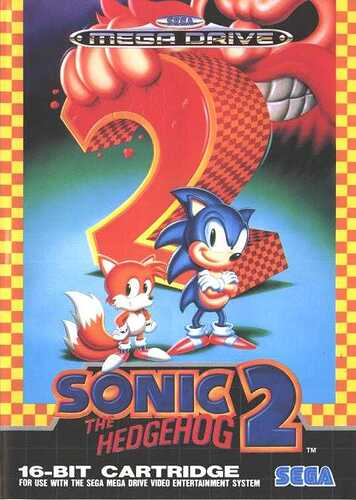 Sonic 2 Box Art MG
