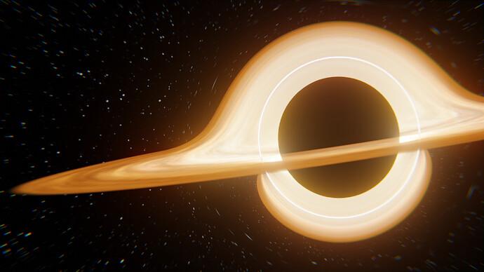 Black Hole Render