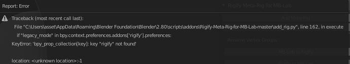 Add-Meta-Rig-error