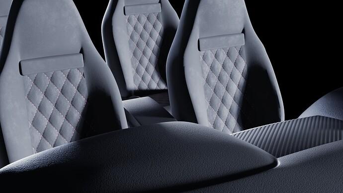 Alcantara Seats w Leather Dashboard