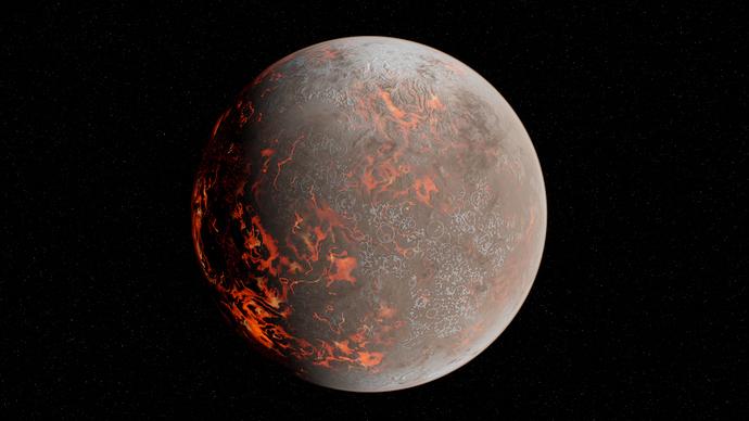 Lava City Planet